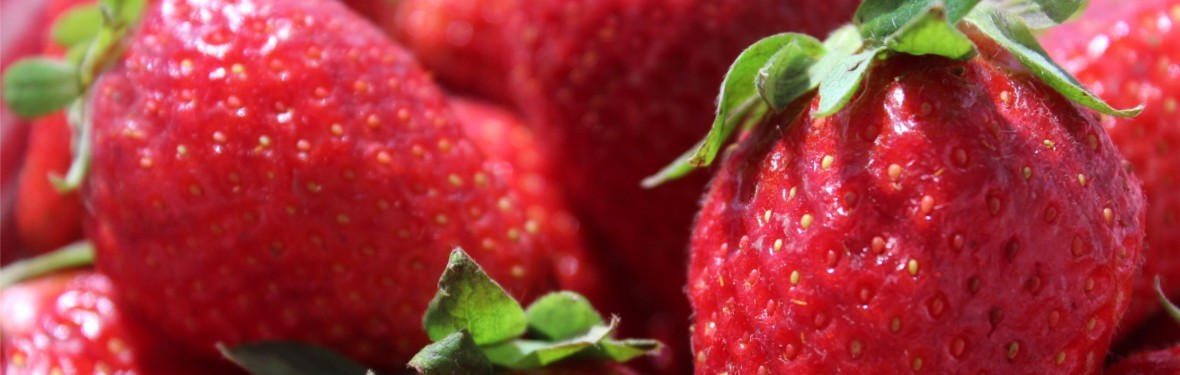 "Fragole come ""beauty alleate"""